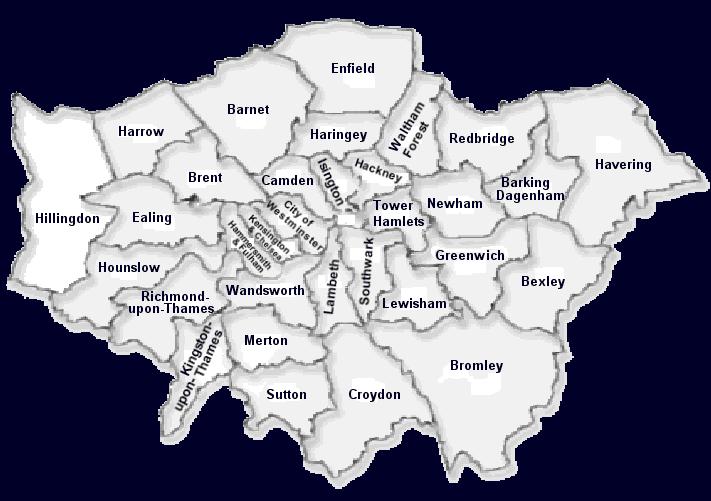 Cartina Londra Zona 1.Trasferirsi A Londra In Che Zona Di Londra Abitare